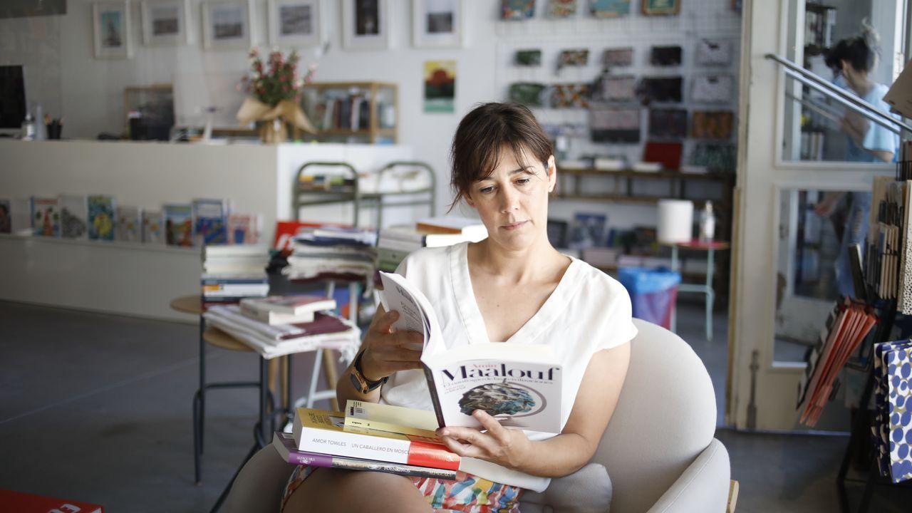 Gloria Fuertes, de la librería Lectocosmos, de Lugo