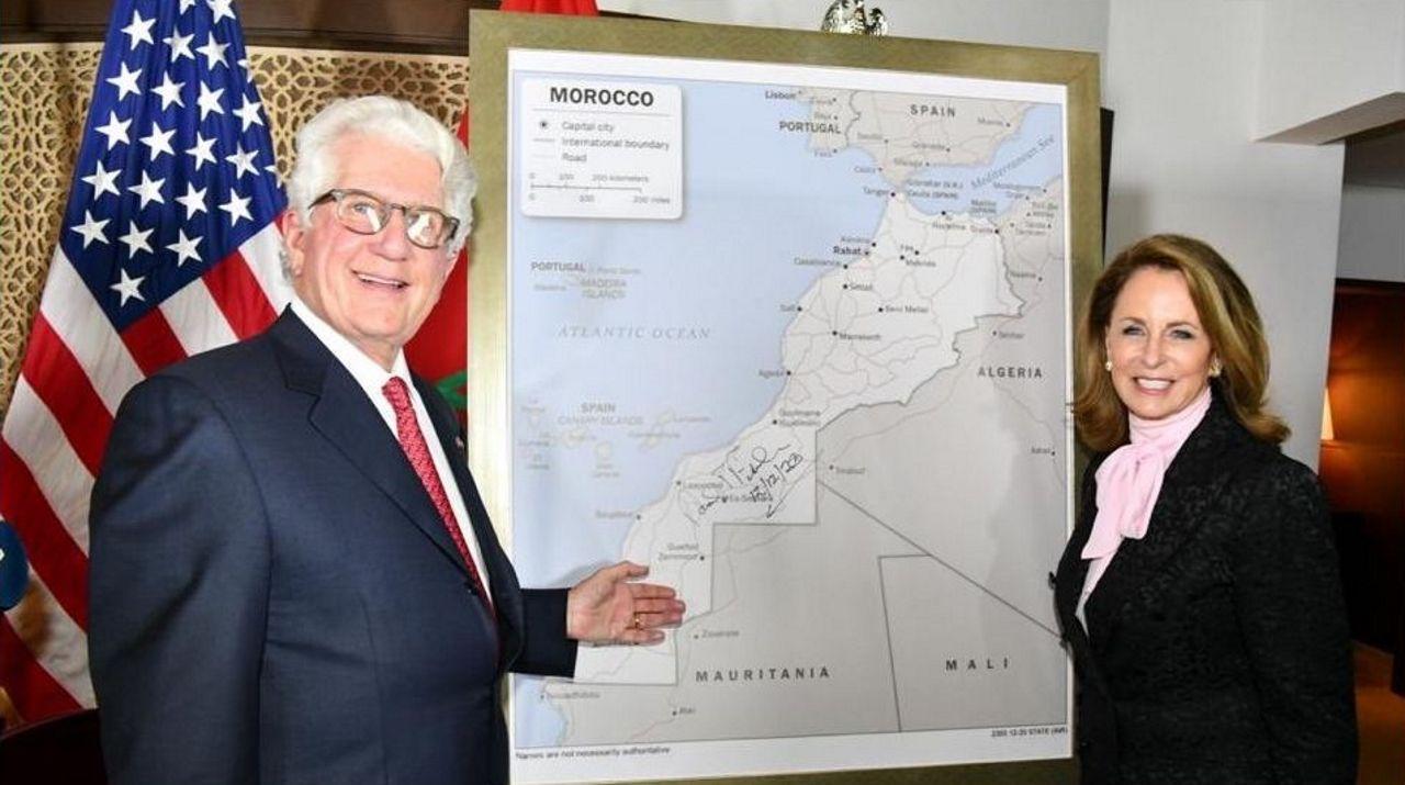 El embajador de EE.UU. en Marruecos, David Fischer