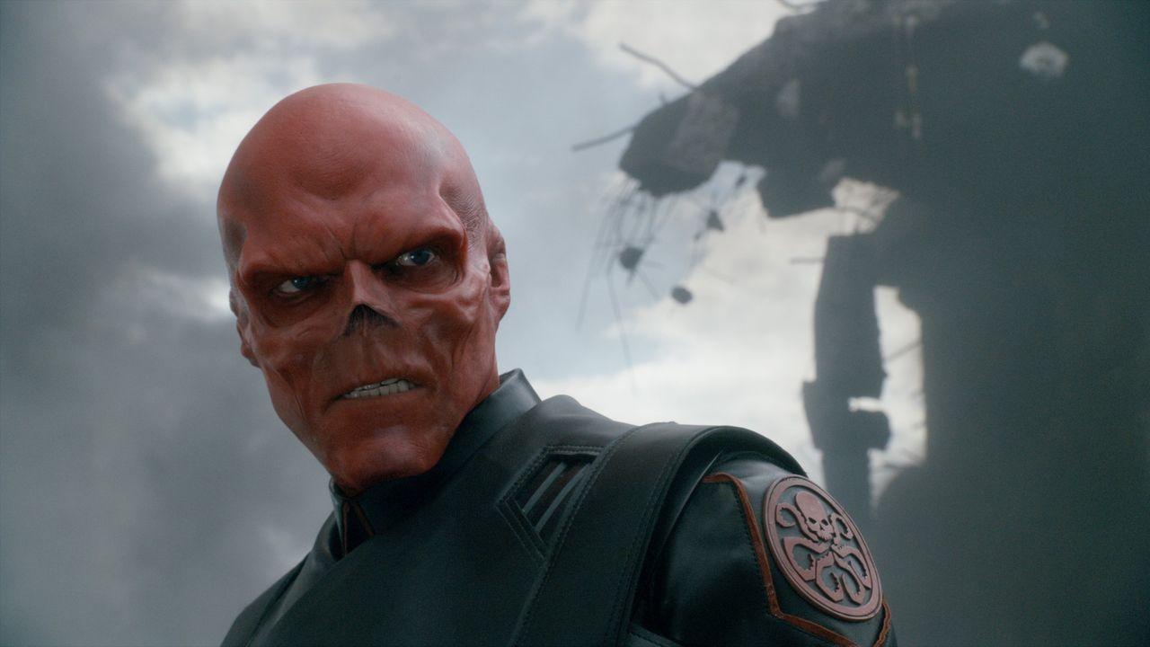 Red Skull es el enemigo de Capitán América