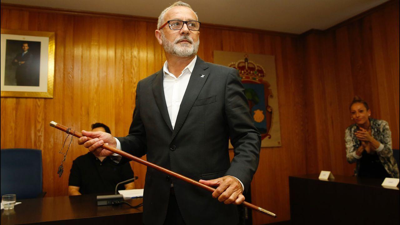 Cambre.Oscar Garcia PATIÑO alcalde de Cambre