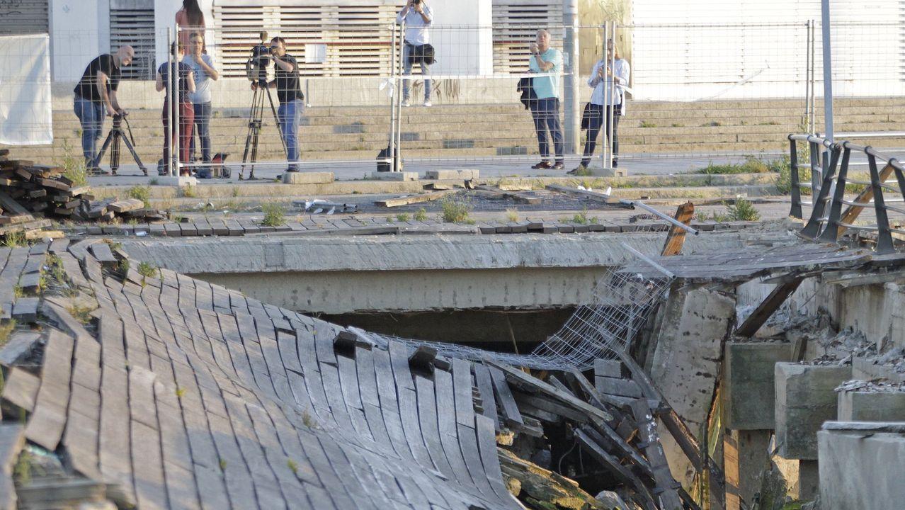 El mercado de A Pedra, cinco años después de la Operación Cuarzo