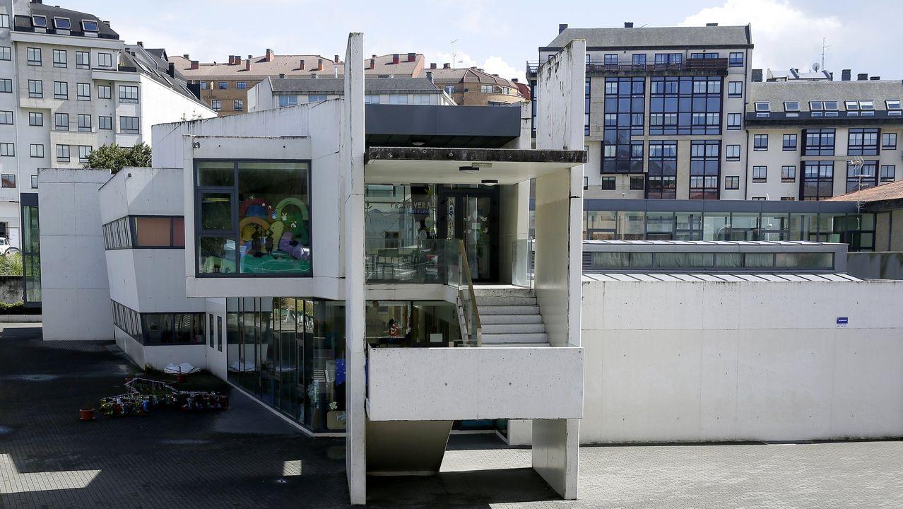Imagen de archivo del CEIP O Graxal, en Cambre