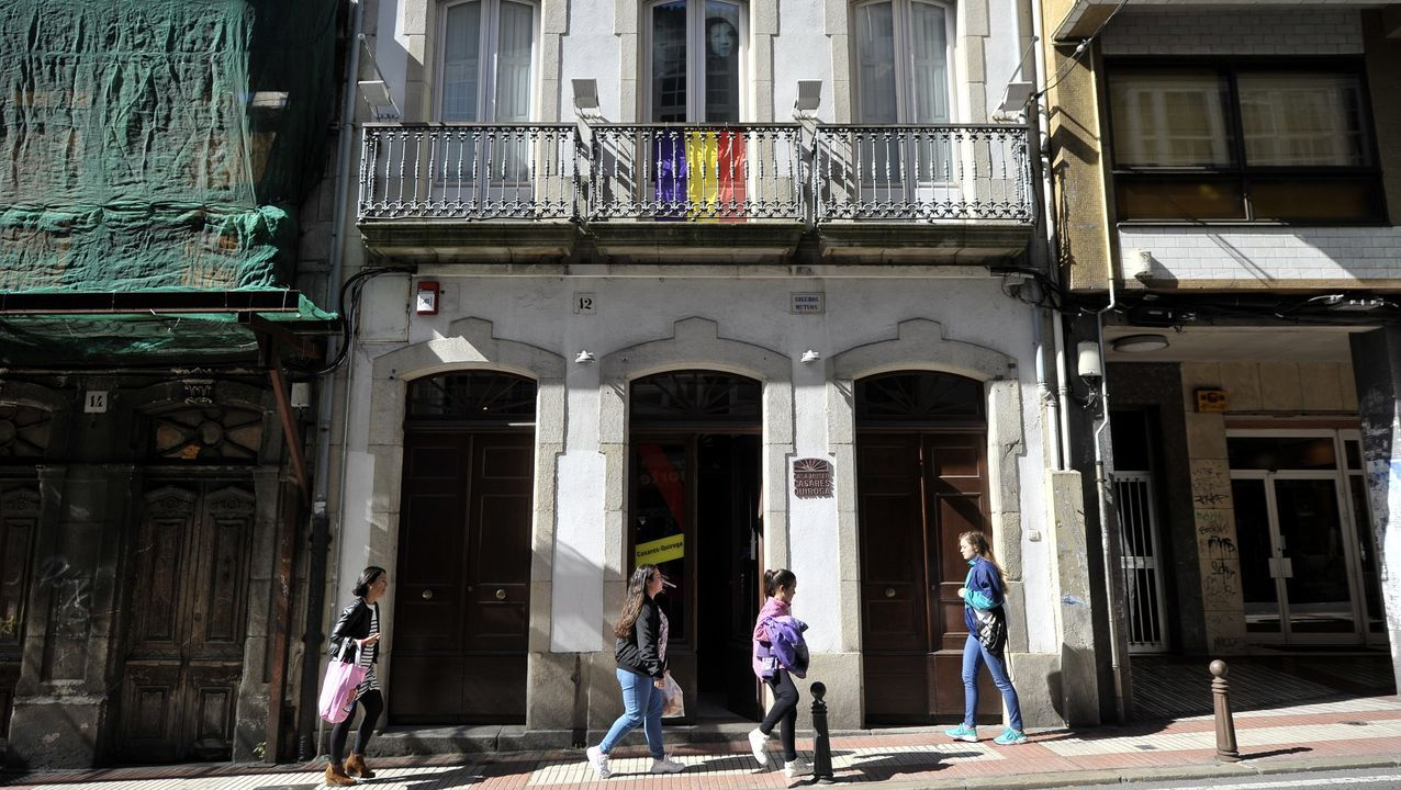La charla iba a celebrarse en el museo Casares Quiroga
