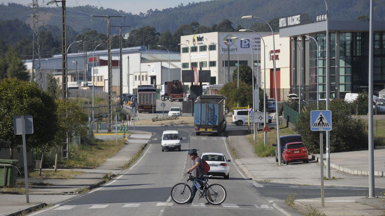 Kilómetros contra el cierre de Alcoa.La ministra española de Industria, Comercio y Turismo, Reyes Maroto,