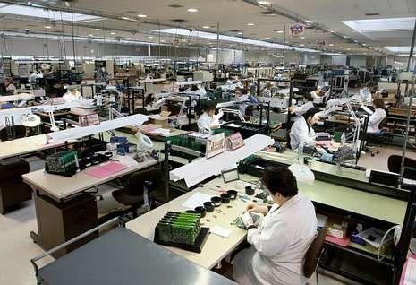 Imagen de archivo de la factoría pontesa.