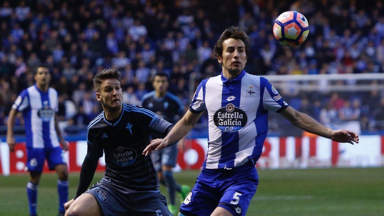 Lucas suma cinco goles esta temporada, cuatro en el campeonato de Liga