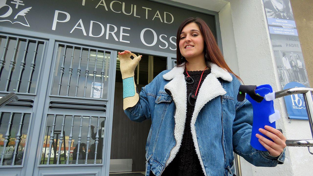 Leyre Lacarra, una de las cuatro promotoras del proyecto