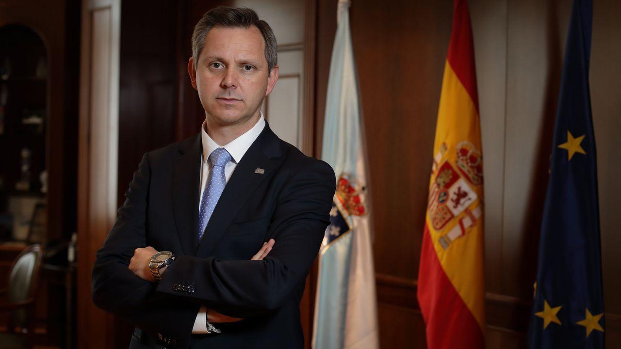 Miñones es el delegado del Gobierno en Galicia