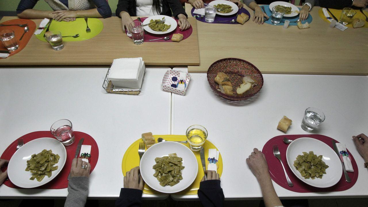 Comedor de la Asociación de Bulimia y Anorexia de A Coruña