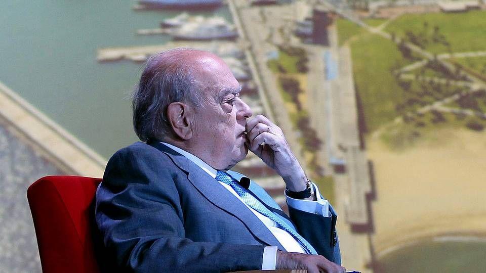 Gallardón fue uno de los tres únicos ministros que acudieron a la votación en el Senado.