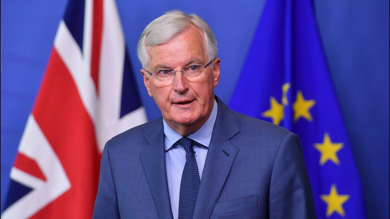El negociador europeo Michel Barnier