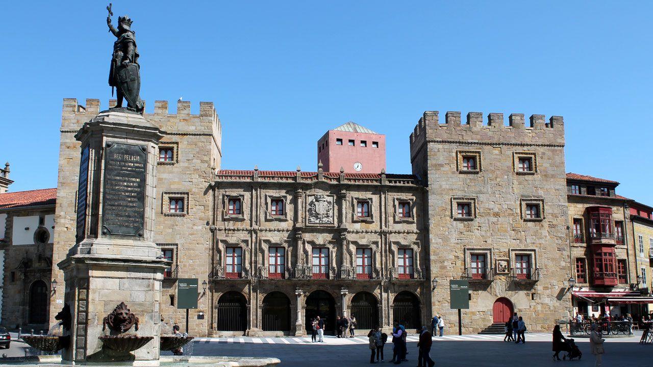 Palacio de Revillagigedo, en Gijón