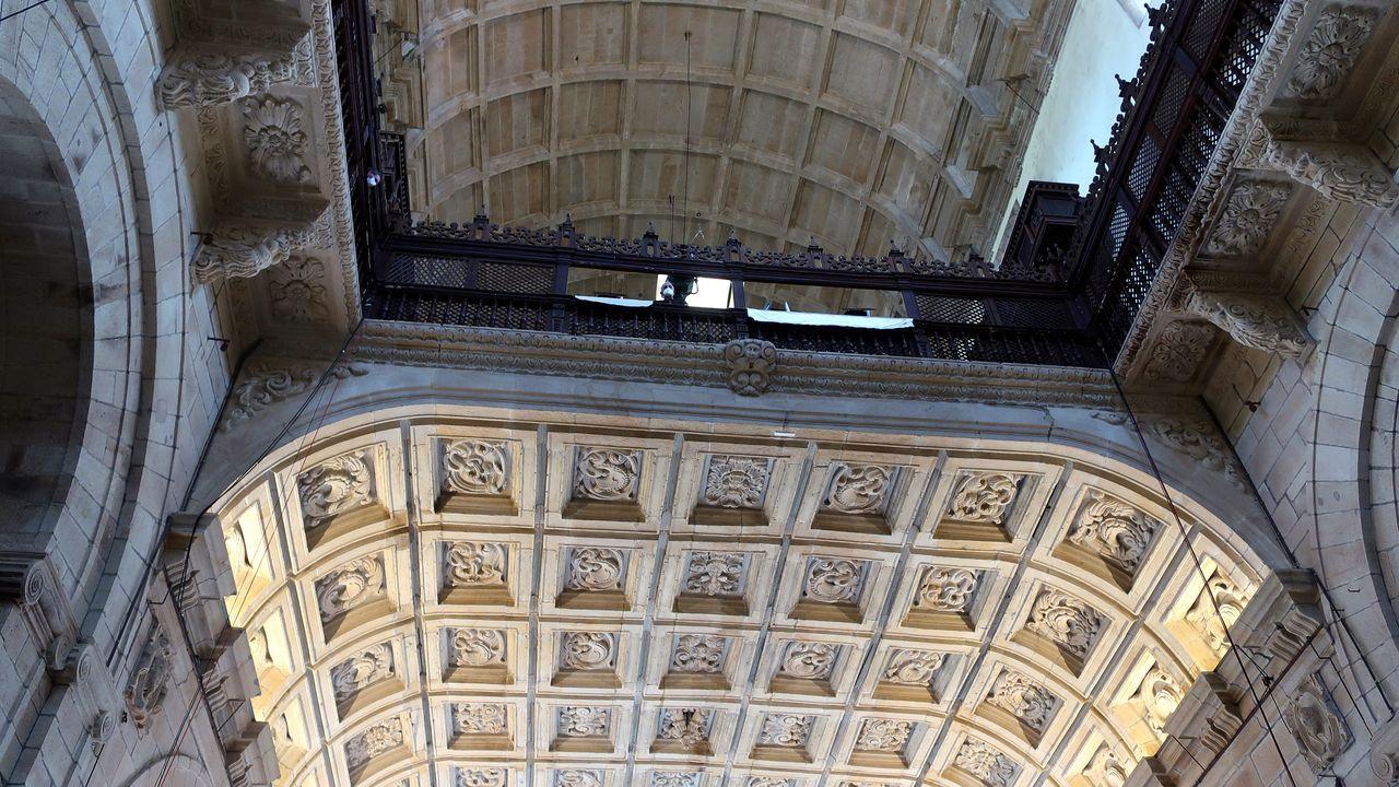 Bóvedas de San Martiño Pinario.
