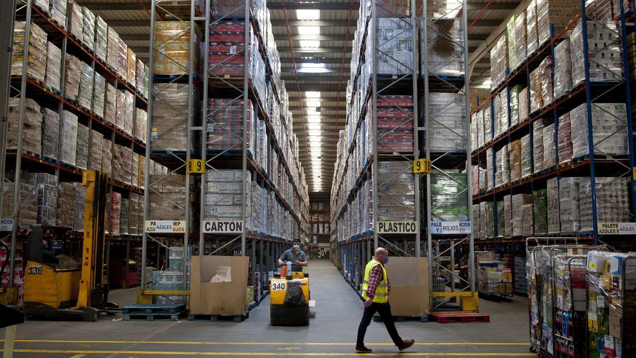 Gadisa, la logística al servicio del cliente.Centro logístico de Gadisa en el Polígono de Piadela