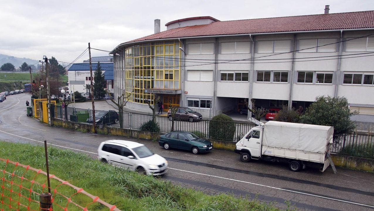 La maquinaria del FITO ya está en marcha.Autocov en el CHUO en Ourense