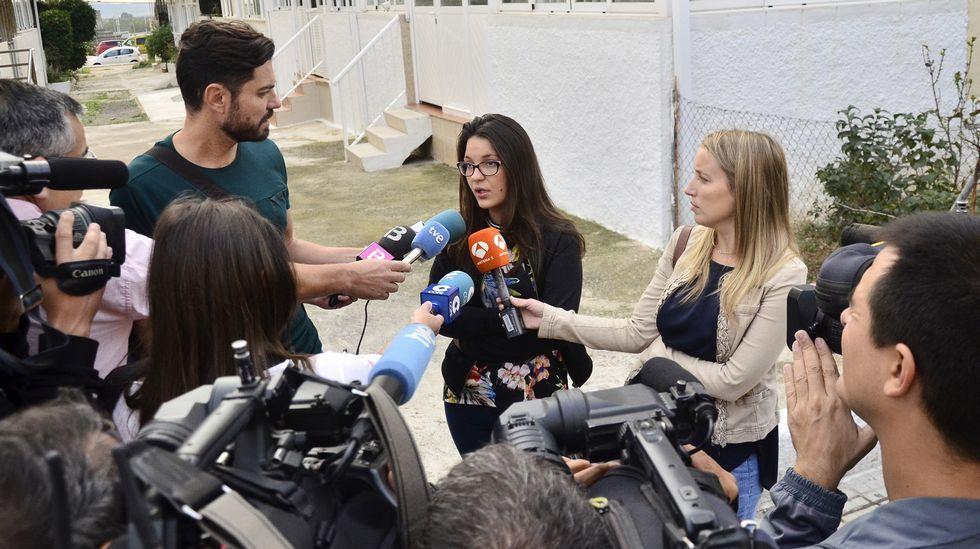 Melisa Suero, hermana de la niña que recibió una paliza de otros menores en Palma.