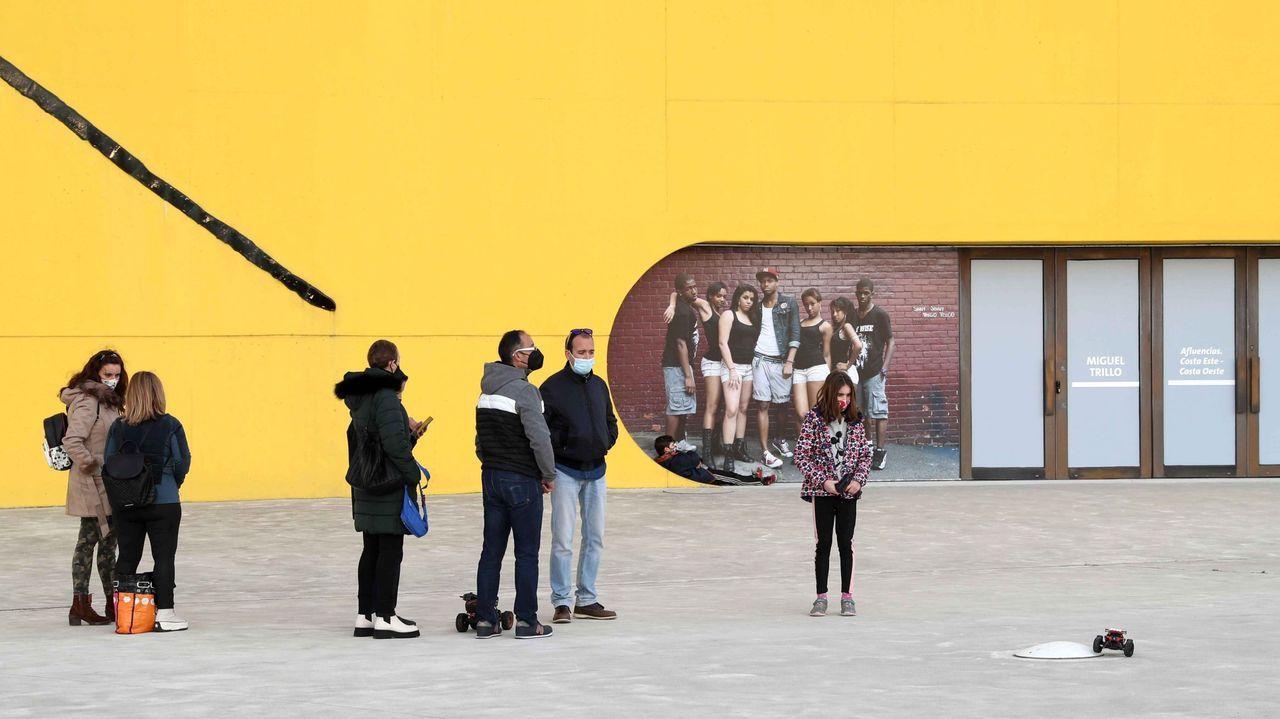 Evolución de las ciudades asturianas.Visitantes en el Centro Niemeyer de Avilés