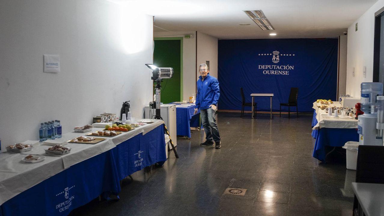 Videoconferencia en la que participa Jose Manuel Baltar