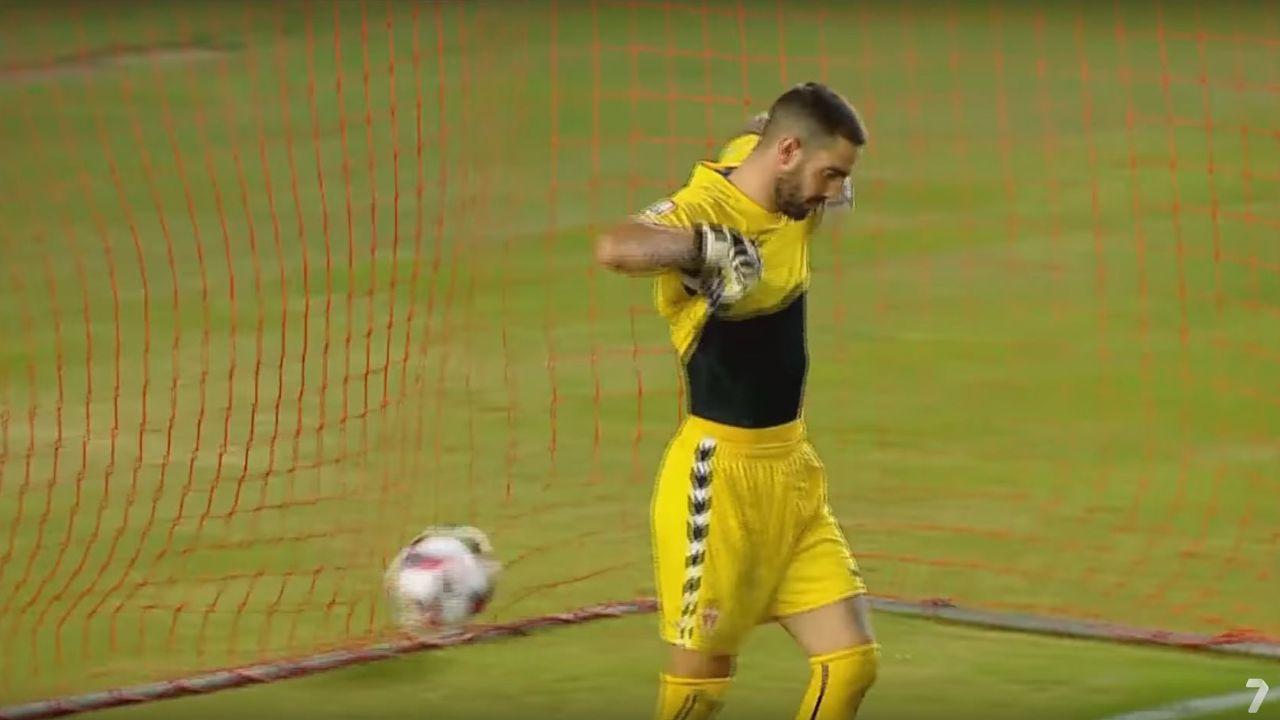 Resumen del Murcia 2-2 Recreativo de Huelva.Salida de los jugadores en el Oviedo-Murcia de 2014