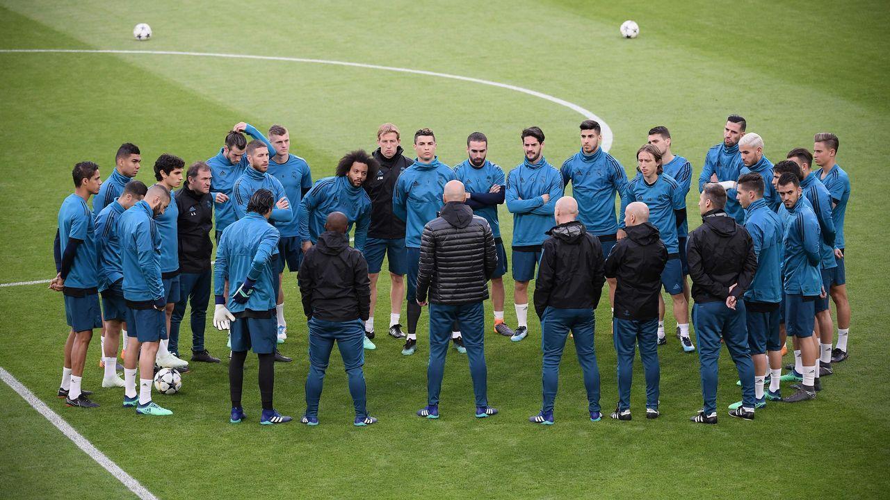 El Real Madrid - Juve en imágenes.Cristiano Ronaldo