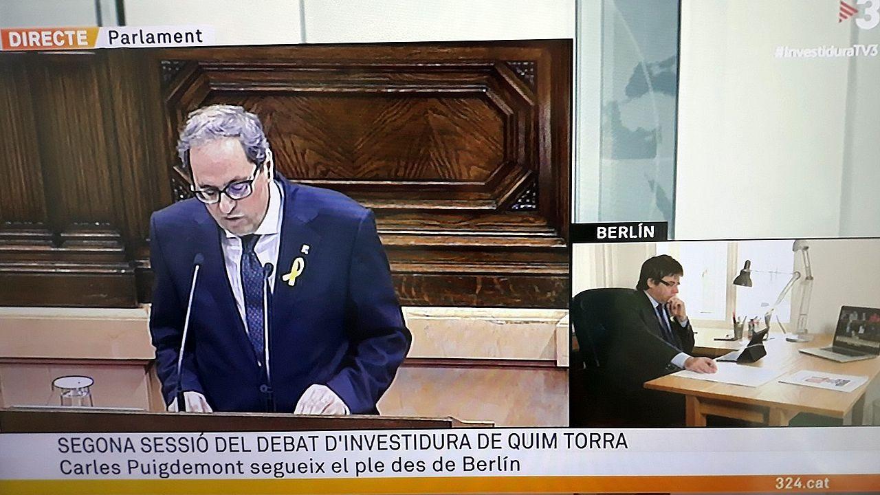 Los Mossos pidieron a Puigdemont que desconvocara el 1 de octubre.La exdiputada de la CUP en el Parlamento catalán Mireia Boya dice que necesita cuidarse y recuperarse de la agresión psicológica