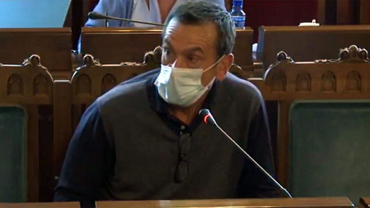 Vista general de la cárcel de Asturias.El director de la residencia del ERA de Grado, Carlos Briansó Cárcamo.