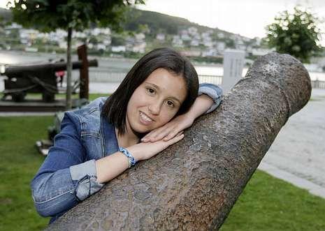 Laura Balseiro disfruta de estos días en Viveiro antes de partir a Nueva Escocia.