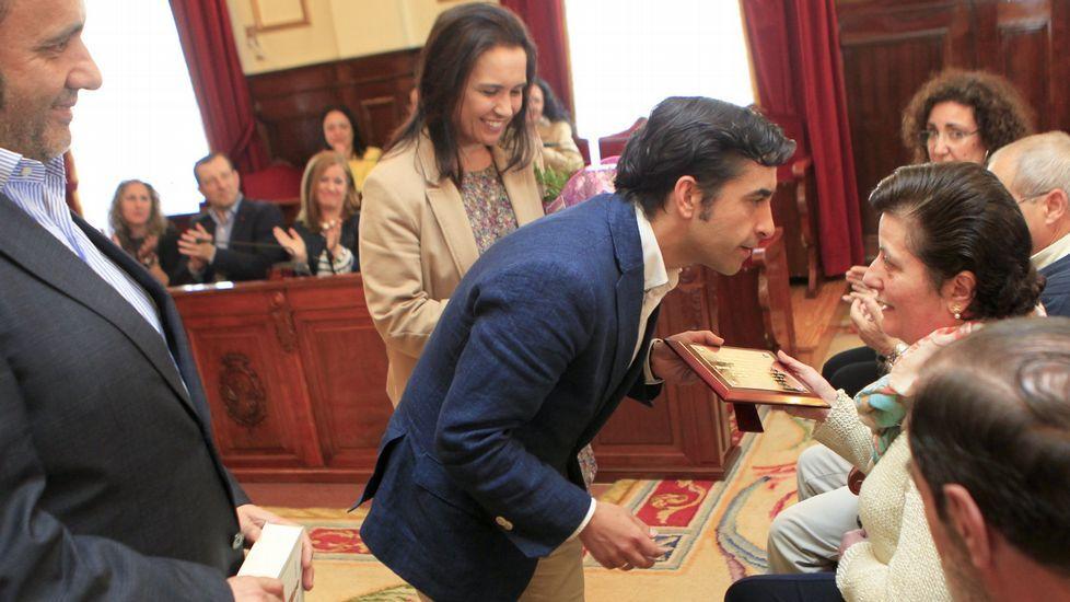 Mitin de Feijoo el pasado 14 de abril en presencia de Casado