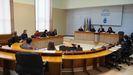Reunión esta mañana de la Comisión de Reactivación del Parlamento