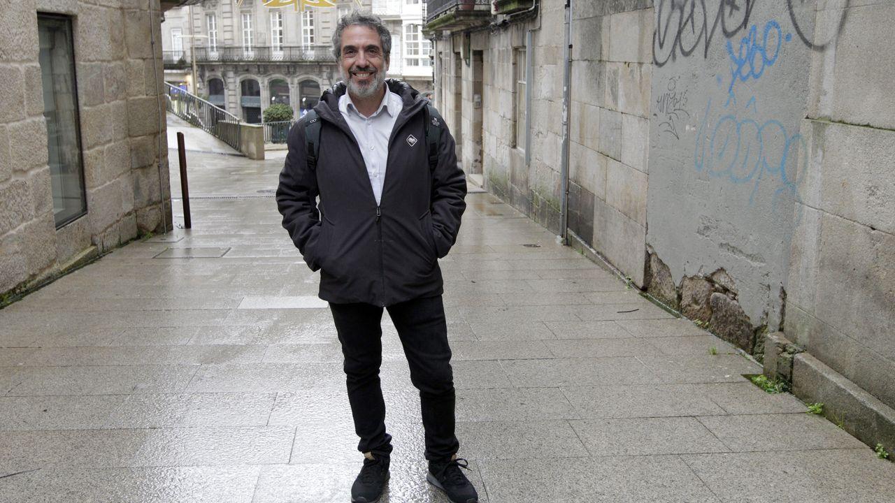 La normalidad del 10N en Santiago.Eva Solla, cuando presentó su candidatura para las autonómicas