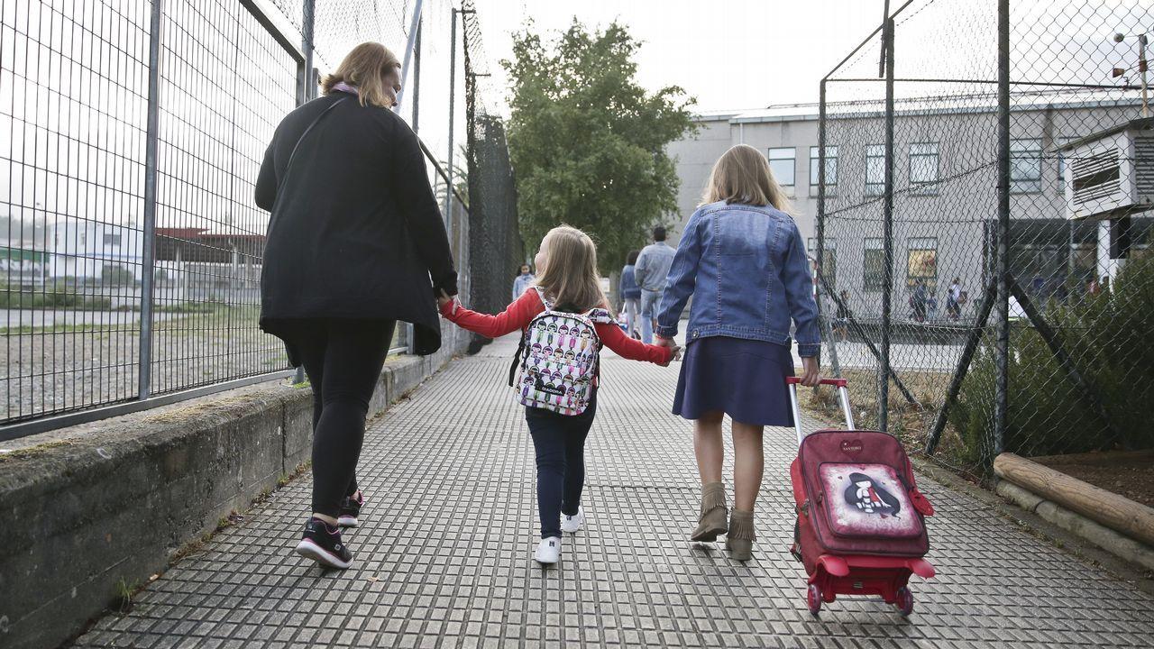 «Diez años después de traer el gas a Galicia, ahora vamos a llevarlo al mar».Vuelta al cole en Galicia