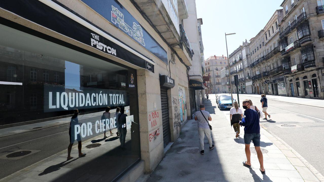 Una patrulla de la policía local de Vigo, en una imagen de archivo
