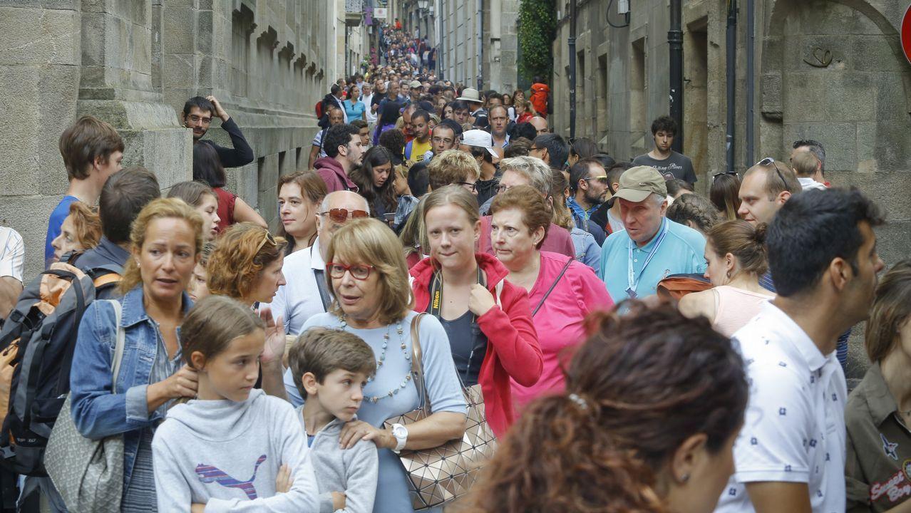 Accesos a la Catedral de Santiago