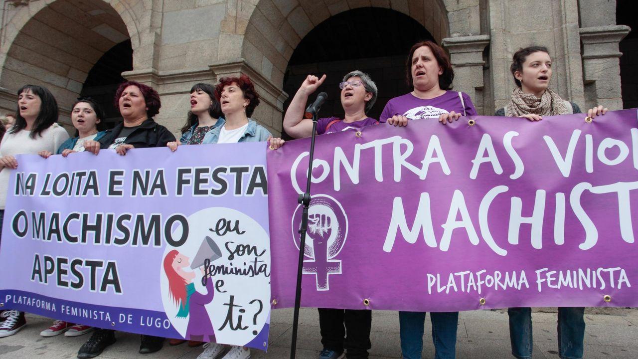 Protestas en Asturias por la sentencia de la Manada