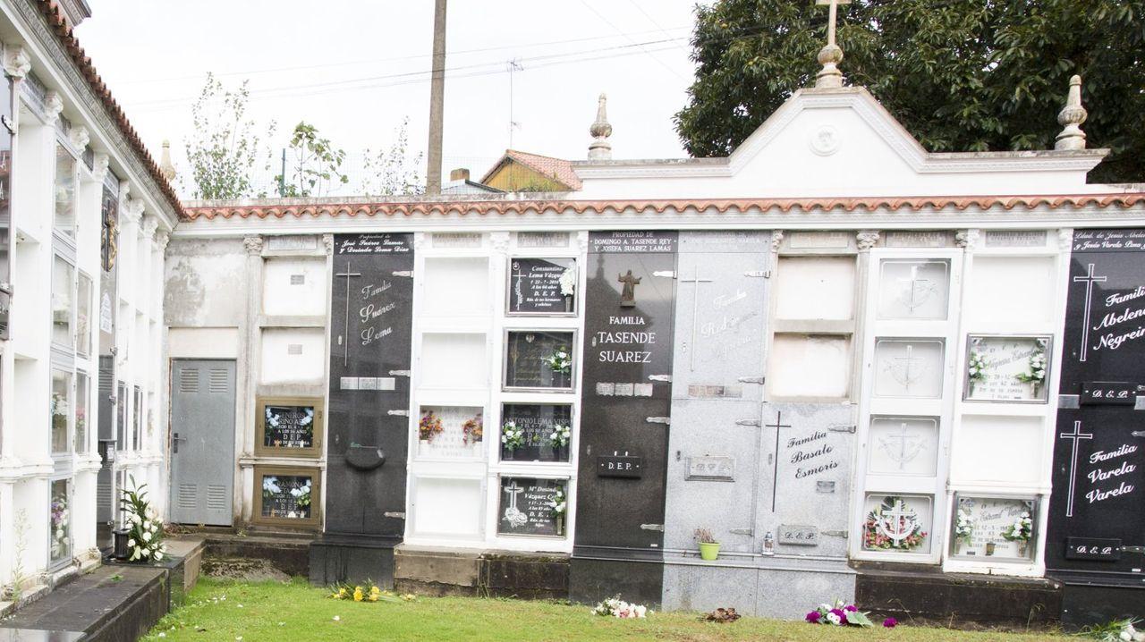 La Panera.Imagen de archivo de un cementerio