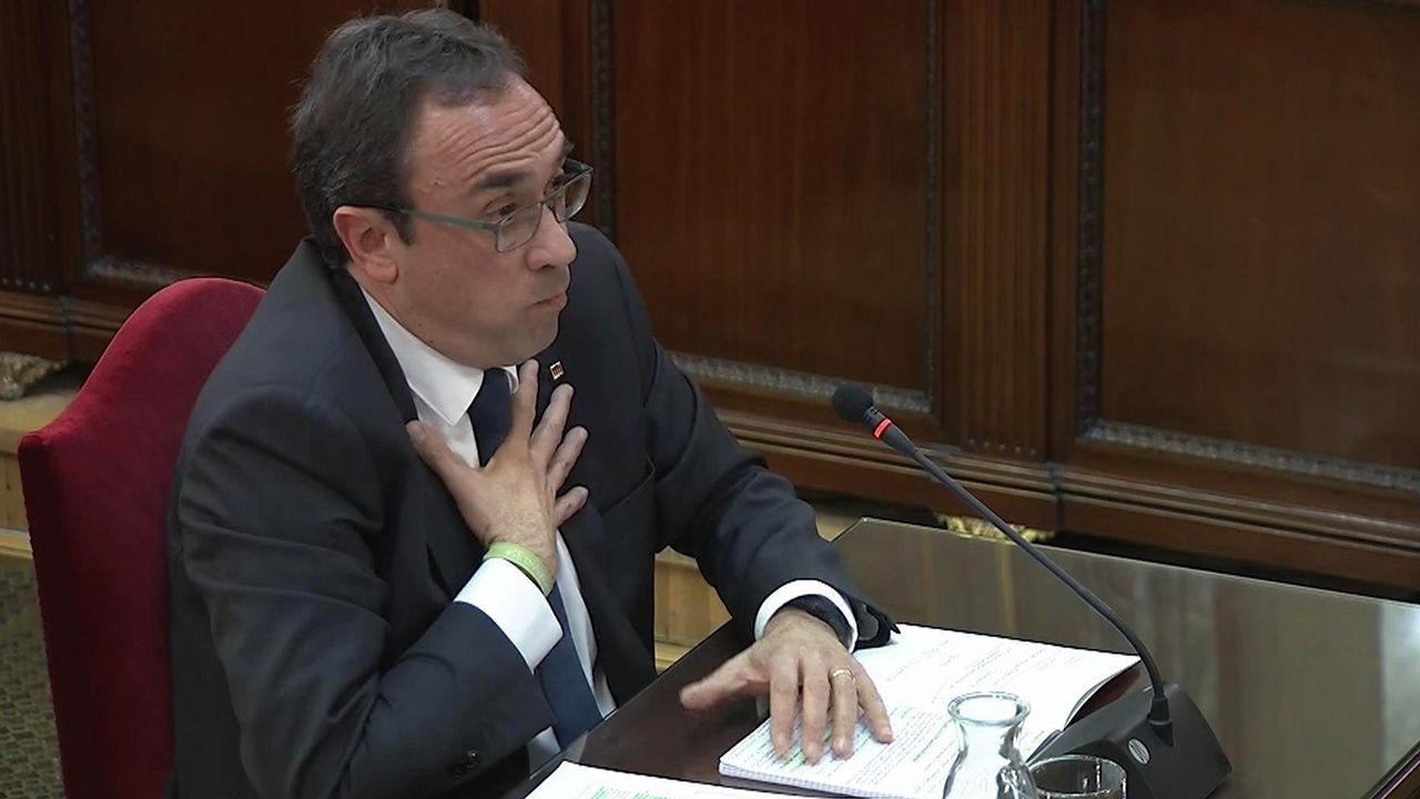 Exconsejero de Territorio, Josep Rull