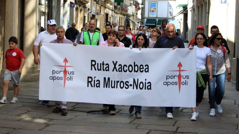 De izquierda a derecha, Joan Balldoví (Compromís), Gabriel Rufián (ERC), Néstor Rego (BNG), Aitor Esteban (PNV), Tomás Guitarte (Teruel Existe) y Pedro Quevedo (Nueva Canarias)
