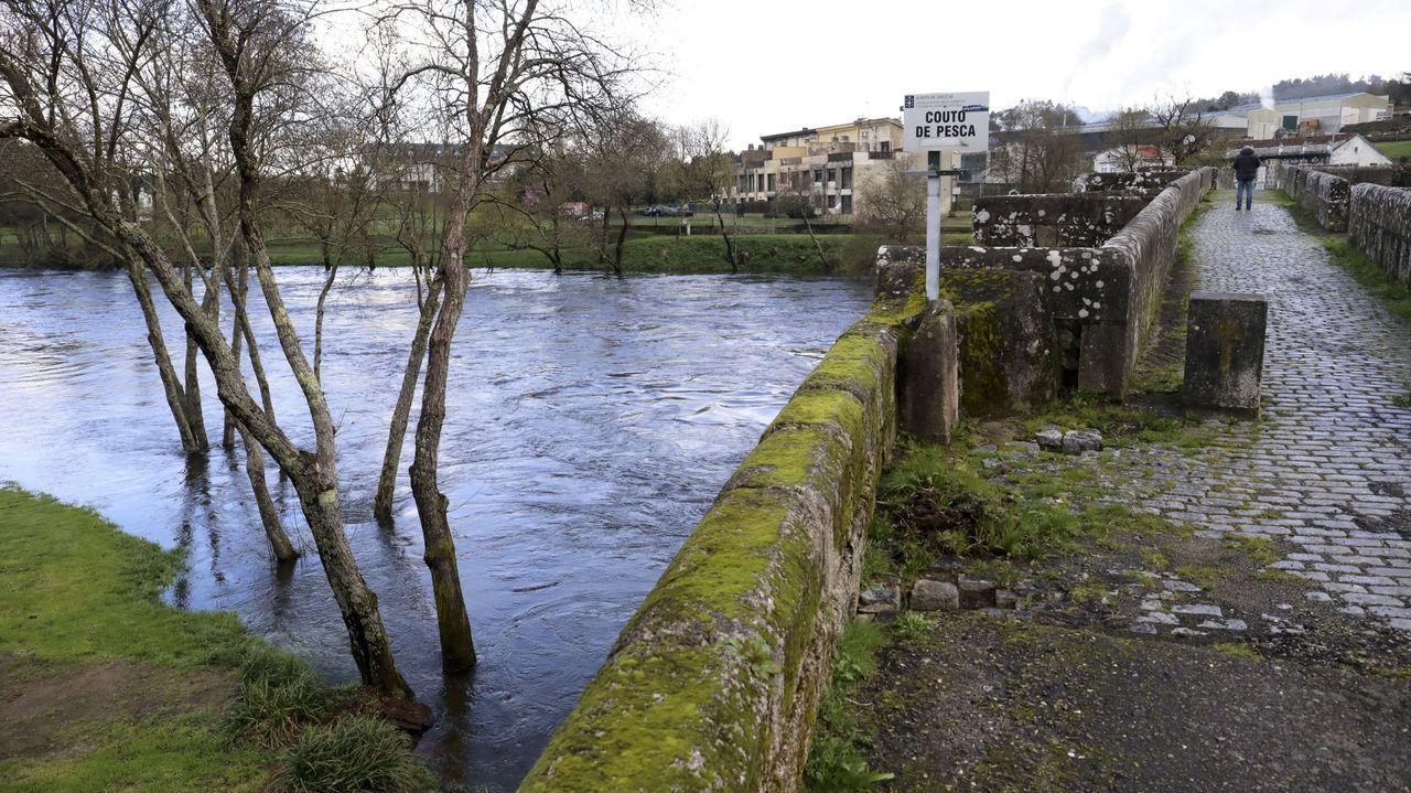 Imagen de archivo del río Ulla a su paso por Pontevea