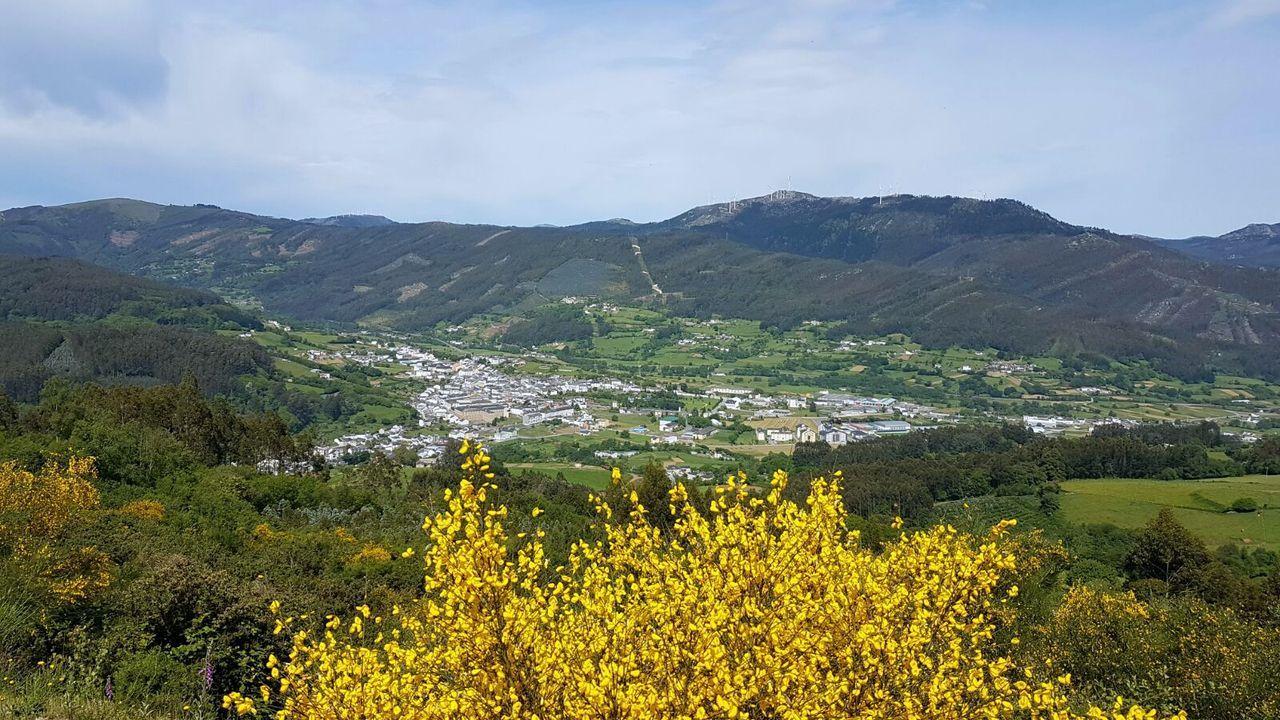 Vista general de Mondoñedo