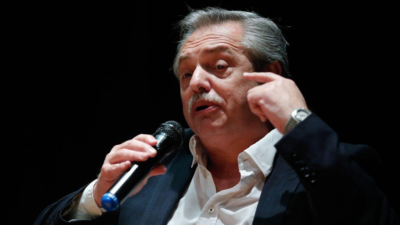 El presidente electo de Argentina, Alberto Fernández