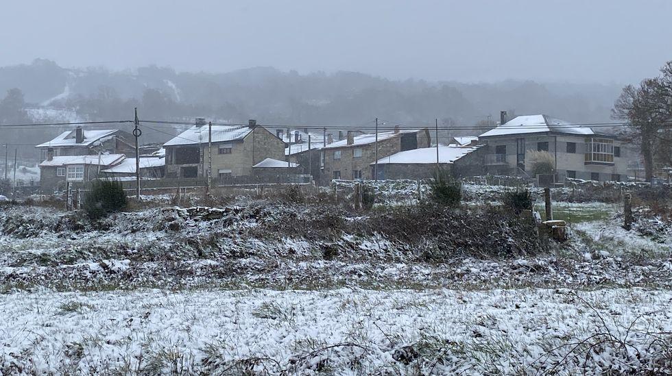 Nieve en A Pobra de Trives