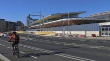 Imagen de la nueva estación de autobuses de Santiago