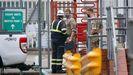 Militares británicos reparten gasolina ante el desabastecimiento en las estaciones de servicio