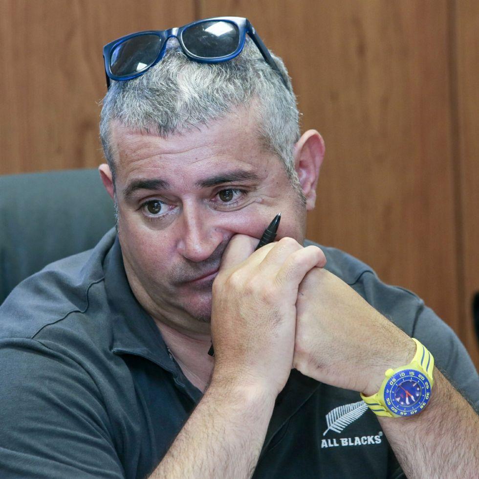 Francisco Fernández Montes, alcalde de Rábade.