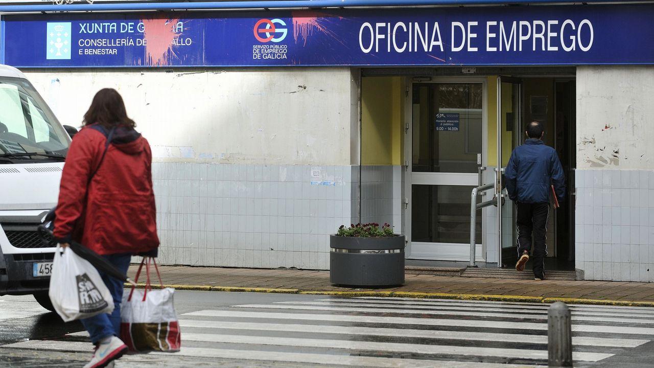 En la imagen, el CEIP Manuel Fraga Iribarne de Cariño