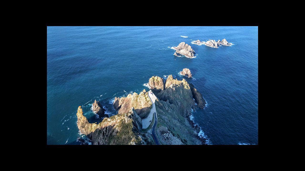 Cabo Ortegal y Os Aguillóns, en Cariño