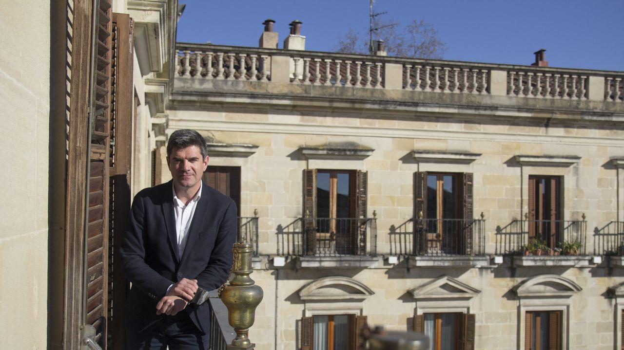 vitoria.Álvaro Iturritxa es portavoz de Medio Ambiente del PNV, que recuperó la alcaldía en el 2015. Vitoria es la única capital de provincia del País Vasco donde ha gobernado el Partido Popular
