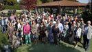 Agal, la asociación de enfermos de lupus, celebró su comida anual en Chicolino