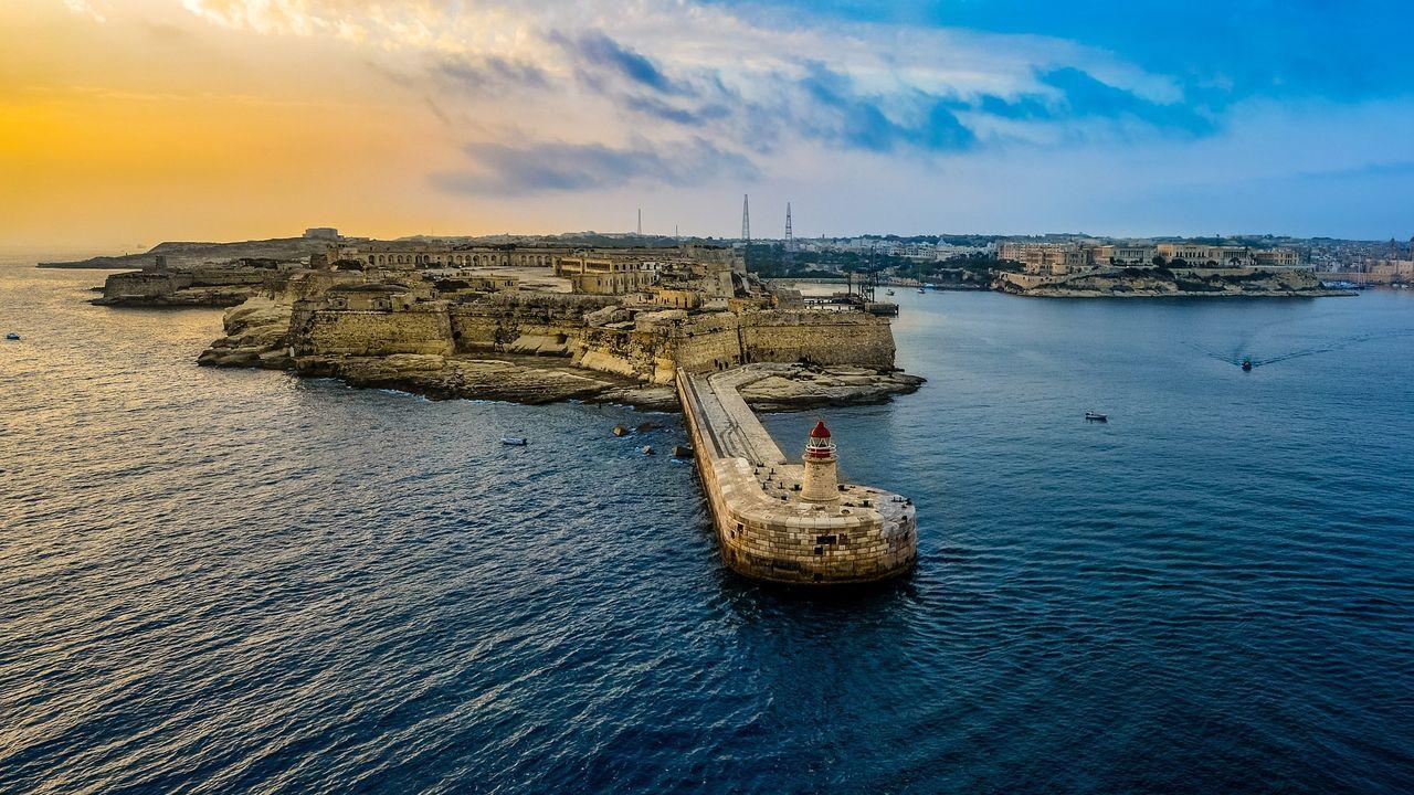 La Valeta, capital de Malta.