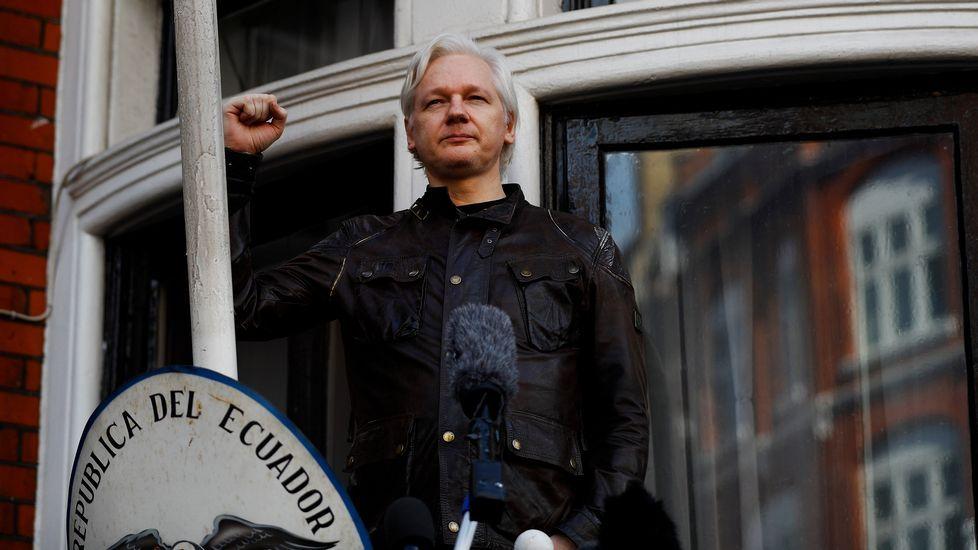 Assange: «Es una importante victoria para mí».Julian Assange